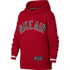 Nike Nike Air Fleece Top jongens sportsweater rood