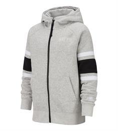 Nike Nike Air Hoodie jongens sportsweater midden grijs