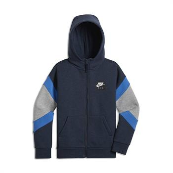 Nike Nike Air Sweater Jongens sportsweater marine