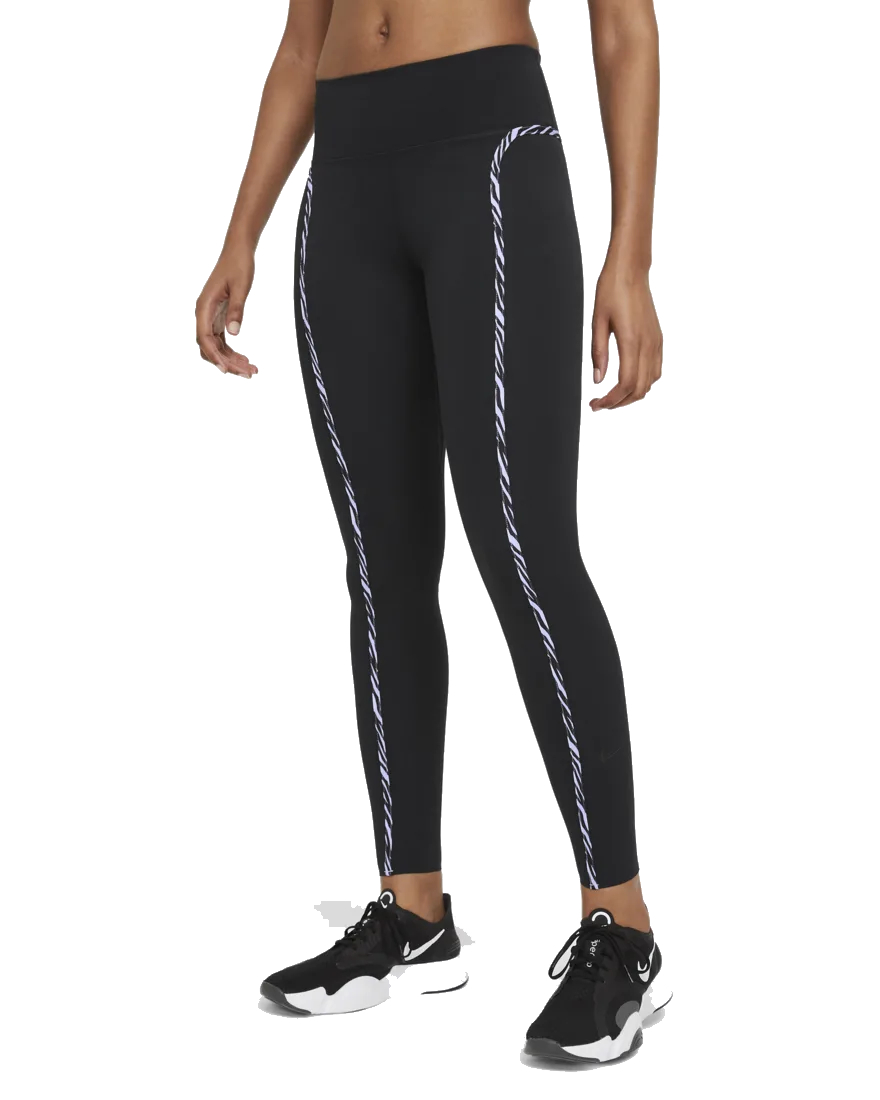 Nike NIKE ONE LUXE ICON CLASH WOMENS L dames tight