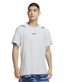 Nike NIKE PRO MENS SHORT-SLEEVE TOP heren sportshirt midden grijs