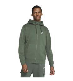 Nike NIKE SPORTSWEAR CLUB MENS FULL-ZI heren sportsweater donkergroen