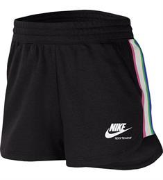Nike NIKE SPORTSWEAR HERITAGE WOMENS F dames sportshort zwart