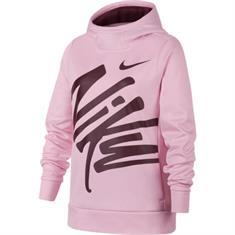Nike Nike Therma Hoodie meisjes sweater rose