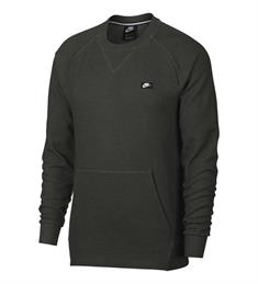 Nike Optic Crew heren sportsweater antraciet