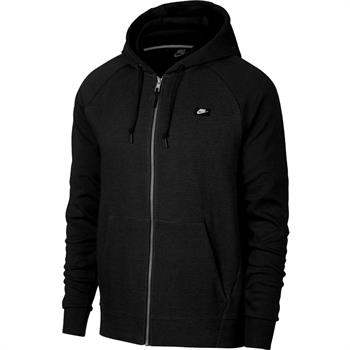 Nike optic Fleece Heren sportsweater ZWART