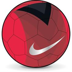 Nike Phantom Veer bal rood