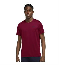 Nike PRO DRI-FIT MENS SHORT-SLEEV heren sportshirt rood