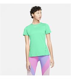 Nike Pro Short Sleeve dames sportshirt mint