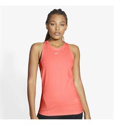 Nike PRO WOMENS MESH TANK dames singlet zalm