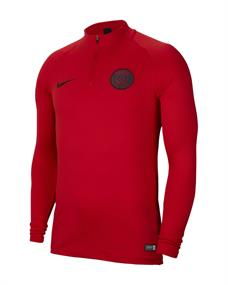Nike PSG Dry Strike Drill Top sr. voetbalsweater rood