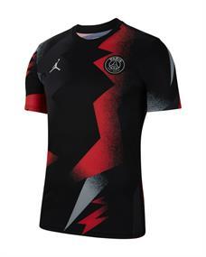 Nike PSG Dry Top junior voetbalshirt zwart