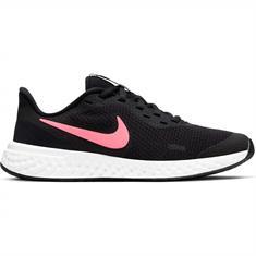 Nike Revolution 5 meisjes hardloopschoenen zwart