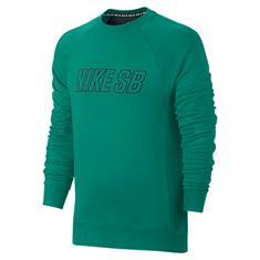 Nike sb Everett Reveal Crew heren sweater jade