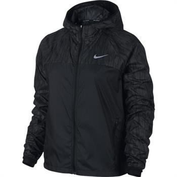 Nike Shield Flash Jacket Dames hardloopjack ZWART