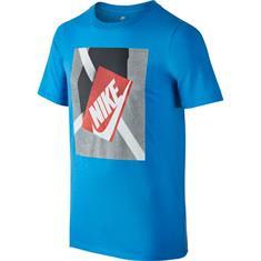 Nike Shoe Box Teee jongens sportshirt kobalt