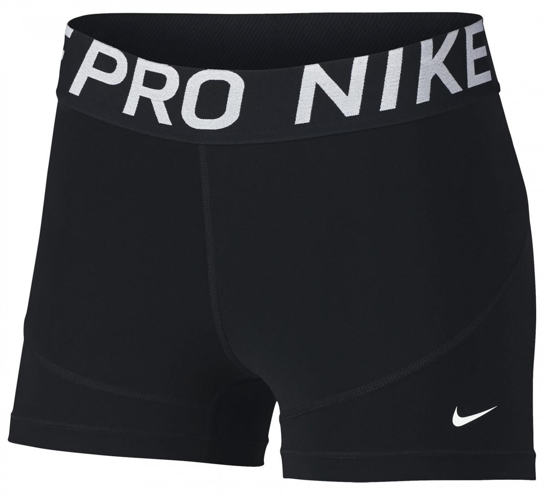 7de8630b347 Nike Short 3IN dames sportbroek 3/8 zwart van tights
