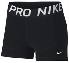 Nike Short 3IN dames sportbroek 3/8 zwart