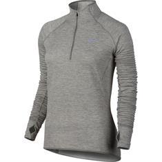 Nike Sphere Element dames hardloopshirt lange mouwen midden grijs