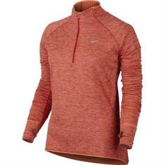 Nike Sphere Element Top dames hardloopshirt lange mouwen oranje