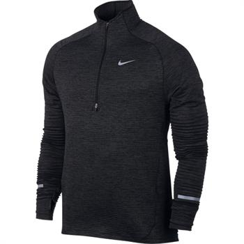 Nike Sphere Element Top Heren hardloopshirt lange mouwen antraciet