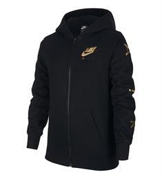 Nike Sportswear Air Hoody meisjes sweater zwart