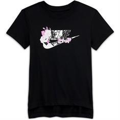 Nike SPORTSWEAR BIG KIDS TEE meisjes sportshirt zwart