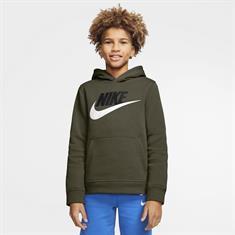 Nike Sportswear Club Fleece jongens trui donkergroen