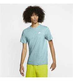 Nike Sportswear Club Man heren sportshirt aqua-azur