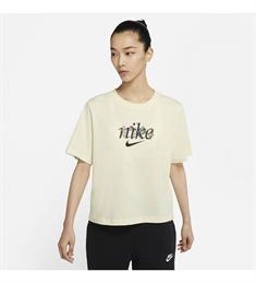 Nike Sportswear dames sportshirt geel