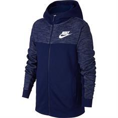 Nike Sportswear Hoodie jongens sportsweater marine
