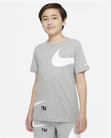 Nike Sportswear jongens sportshirt grijs