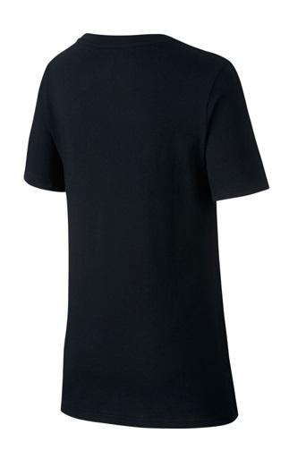 Nike Sportswear Tee jongens sportshirt zwart