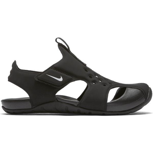 fd5660b7dfb Nike Sunray protect 2 jongens sandalen zwart van slippers & sandalen
