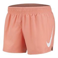 Nike Swoosh Run Short dames hardloopshort rose