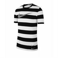 Nike Swoosh Stripe Tee heren sportshirt wit