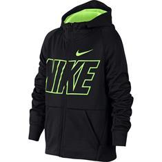 Nike Therma Hoodie jongens sportsweater zwart
