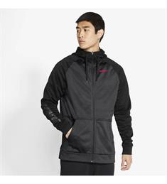 Nike THERMA MENS FULL-ZIP TRAININ heren sportsweater zwart