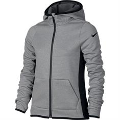 Nike Therma Training Hdy meisjes sweater antraciet