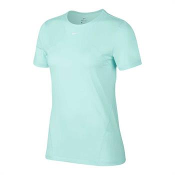 Nike Top Allover Mesh Dames sportshirt mint