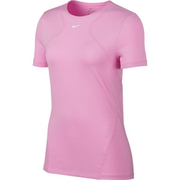 61bf6e29d13 Nike Top Allover Mesh Dames sportshirt rose op Herqua.nl