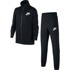 Nike Track suit poly junior voetbal trainingspak zwart