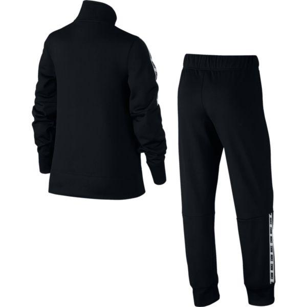 Nike Track Suit Tricot meisjes trainingspak zwart