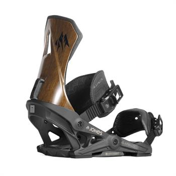 Now Apollo Black Snowboard bindingen ZWART
