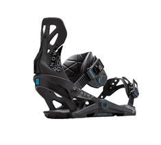 Now Brigade Black snowboard bindingen zwart