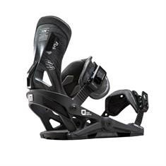 Now Drive Black snowboard bindingen zwart