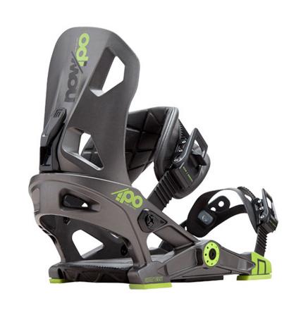 Now Ipo Grey snowboard bindingen antraciet