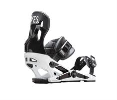 Now Now X Yes White snowboard bindingen wit