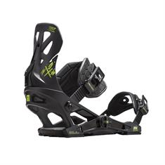 Now Select Pro Black snowboard bindingen zwart