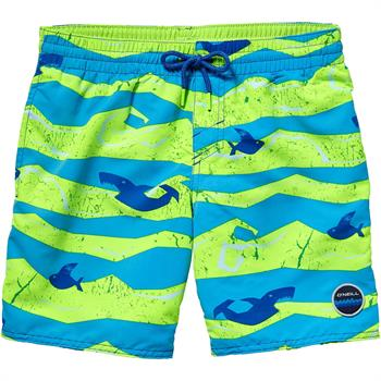 O Neill Thirts for Surf Jongens beachshort groen dessin
